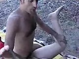 Horny chubby wife loves to fuck outdoors