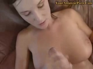 Cum on my Big Titts video
