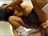 HOT ASS ASIAN BABE GETS FUCKED IN THE KITCHEN