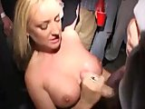 cumshot in public