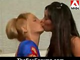 Awsome Kissing by two girls