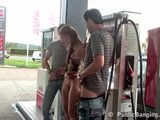 Gas Station Threesome