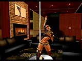 Second Life virtual strippers performance