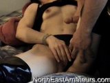 Cumshot on Chicks Panties