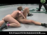 Sexy girls wrestling naked.