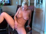 Dirty Maid Bree Olson Works Her Shaved Pussy