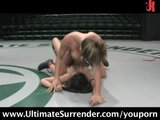 Naked chicks catfighting Loser gets fucked!