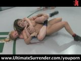 4 girls catfighting, losers get fucked