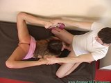 amateur gymnast loves flexi contortion sex