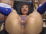 Jap Pussy Bukkake