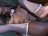 Ebony hottie loves to take it in the ass   (CLIP)