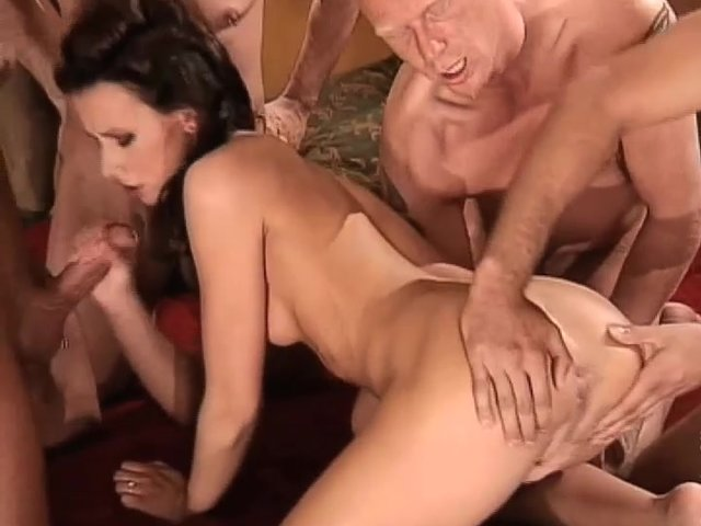 ass to moith gang bang porn