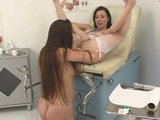 Nurse can&#039;t wait to pull her patient&#039;s white panties aside - Pt. 3/4