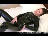 Black Suit Masturbation