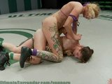 Hot girls - action packed wrestling!