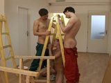Twink bareback fun with l...