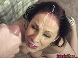 cumshot turned funny