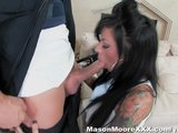 Mason Moore gets arrested and fucked by a cop