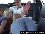 CUM SWAPPING LIMO RIDE – SNOWBALL FACIAL ORAL BJ