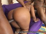 Big Booty Black Hottie Pounded