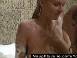 FANTASY BATH  AMATEUR BISEXUAL BUSTY WIVES