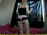 Hot Blonde Amateur Dances Out Of Her Lingerie