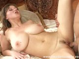 Sara Stone Takes Load On Her Huge Tits