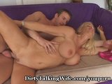 Cock-Starved Wifey Gaga Over New Stud