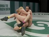The Gymnast fucks her opponent's pussy