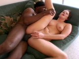 MASSIVE black rod stretches a thickly girl's cunt