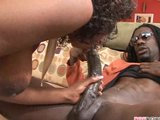 Big black ass , big tits and creampies vs. big dick pt 2/3
