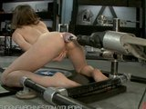 Ass fucked by the machine