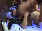 Senior couple fucking a young willing hooker