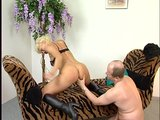 Mature couple gets it on
