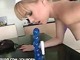 Blue Angel kitchen masturbation