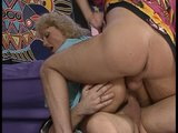 Euro MILF in 80s Theme Threesome - DBM Video