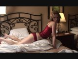 Kelli shows him how to fuck his pillow