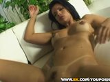 2 Brazilian babes get drenched in cum