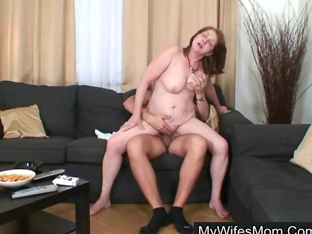 She gleefully opens her legs and welcomes his fat shaft 5