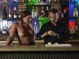 Topless barmaid puts us in zombie land