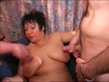 Bells and whistles hanging from her pussy