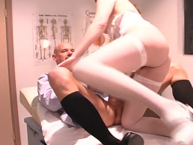 Fakehospital pretty patient was prepped by nurse 4