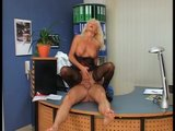 Putting his cock in her in box