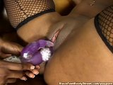 Black Girl Fucks Friend With DIldo