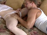 Sexy young redhead bangs her stepbrother