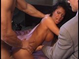 Hot brunette enjoys a good ass pound&#039;n w/ her boots on! (Clip)