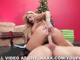 Shyla's Xmas Creampie By The Tree