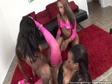 Three Black Girls Fuck Toys And Lick Pussy