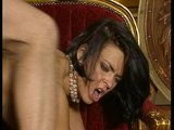 Hot tiny brunette gives the piano teacher a lesson in dick riding. (Clip)