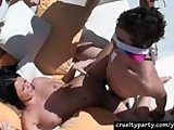 Hot Busty Loni Evans Banged At A PoolParty